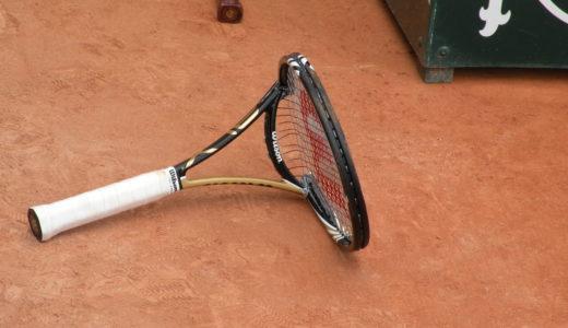 テニスラケットの選び方 硬さにもこだわろう!