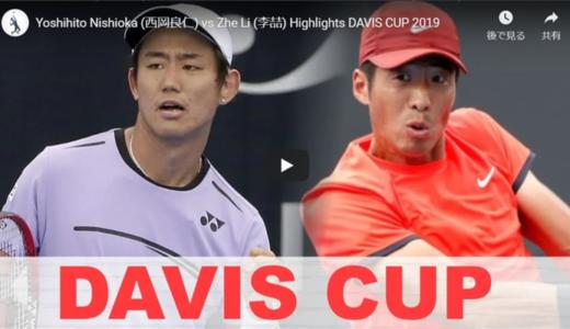 【ハイライト】2019国別対抗戦!西岡、バックの強い中国選手に惜敗